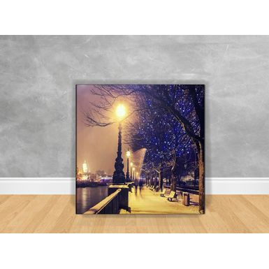 Quadro-Decorativo-Paris-Street-com-Chassi
