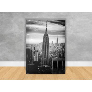 Quadro-Decorativo-Manhattan-P-B-com-Chassi