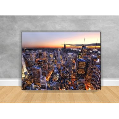 Quadro-Decorativo-Manhattan-Sky-com-Chassi
