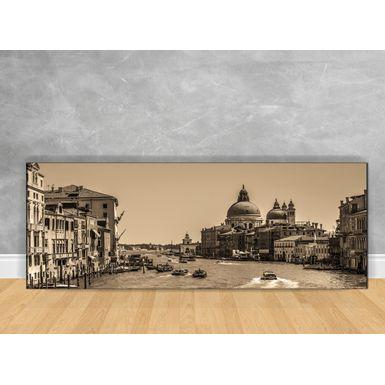 Quadro-Decorativo-Veneza-Sepia-com-Chassi