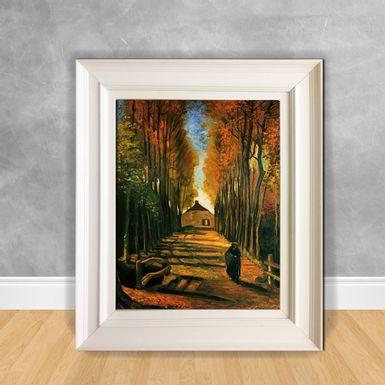 Quadro-Decorativo-Van-Gogh---Avenue-of-Poplars-at-Sunset