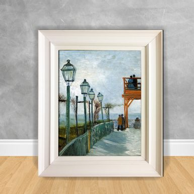 Quadro-Decorativo-Van-Gogh---Belvedere-Overlooking-Montmartre