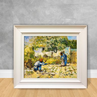 Quadro-Decorativo-Van-Gogh---First-Steeps