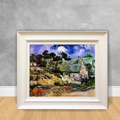 Quadro-Decorativo-Van-Gogh---Houses-With-Tchatched