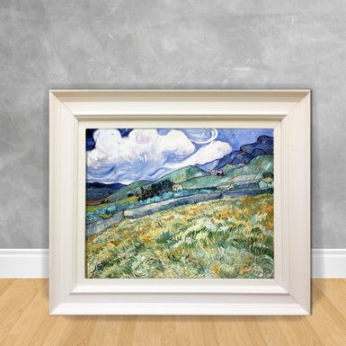 Quadro-Decorativo-Van-Gogh---Landscape-From-Saint