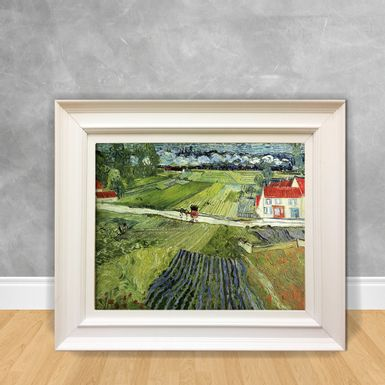 Quadro-Decorativo-Van-Gogh---Landscape-With-Carriage