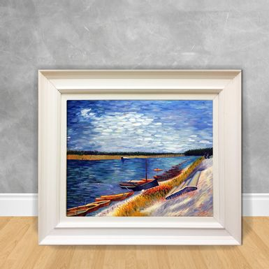 Quadro-Decorativo-Van-Gogh---Moored-Boats