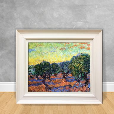 Quadro-Decorativo-Van-Gogh---Olive-Grove-Orange-Sky