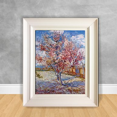 Quadro-Decorativo-Van-Gogh---Peach-Tree-in-Bloom