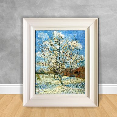 Quadro-Decorativo-Van-Gogh---Peach-Trees-in-Blossom