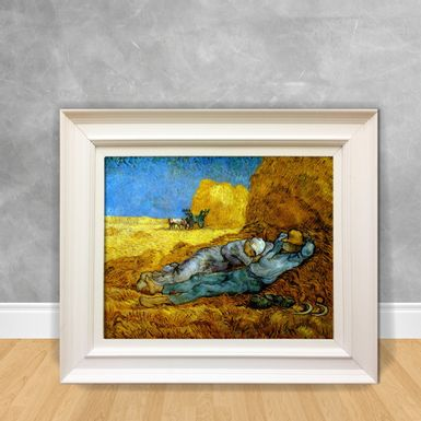 Quadro-Decorativo-Van-Gogh---Rest-Work