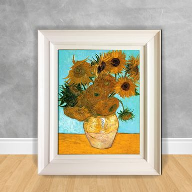 Quadro-Decorativo-Van-Gogh---Still-Life-Vase-with-Twelve