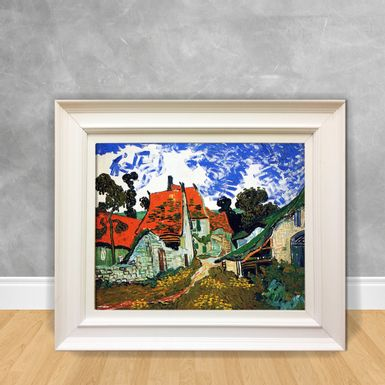 Quadro-Decorativo-Van-Gogh---Street-in-Auvers