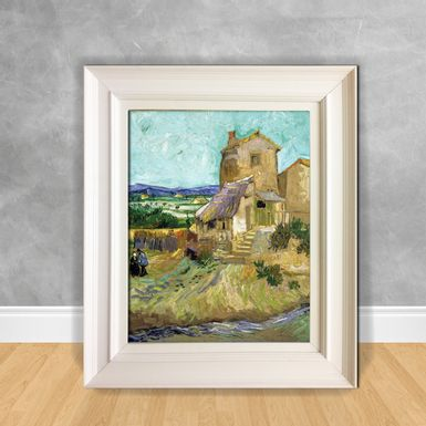 Quadro-Decorativo-Van-Gogh---The-Old-Mill