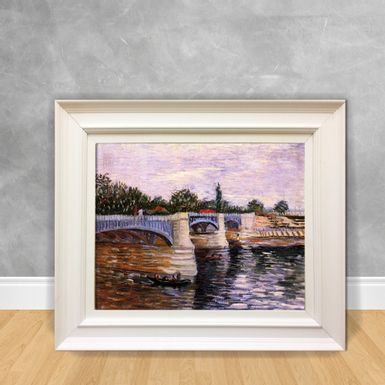Quadro-Decorativo-Van-Gogh---The-Seine-With-the-Pont-de-la-Grande-Jette