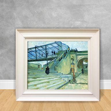 Quadro-Decorativo-Van-Gogh---The-Trinquetaille-Bridge