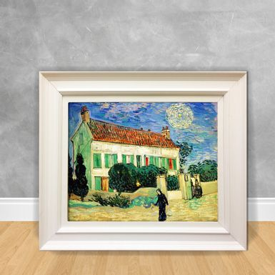 Quadro-Decorativo-Van-Gogh---White-Housenight