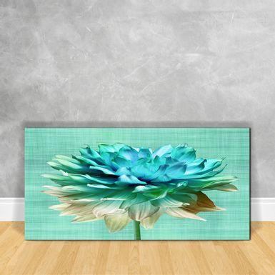 Quadro-em-Vidro---Floral-Aqua