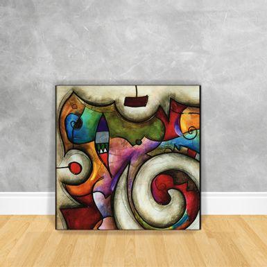 Quadro-Impressao-em-Vidro---Abstrato-Coloridos-Circulos-2B