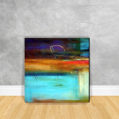 Quadro-Impressao-em-Vidro---Abstrato-Tons-de-Azul-D16A