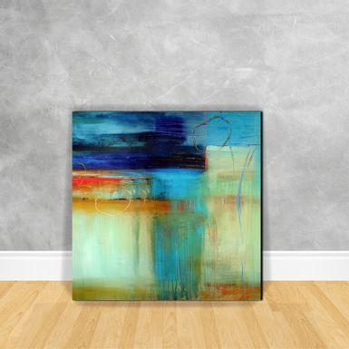 Quadro-Impressao-em-Vidro---Abstrato-Tons-de-Azul-D16B