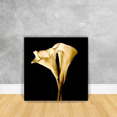 Quadro-Impressao-em-Vidro---Floral-Sepia-N9A