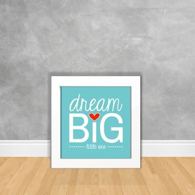 Quadro-Decorativo-Dream-Big-Little-One
