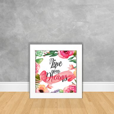 Quadro-Decorativo-Live-Your-Dreams-