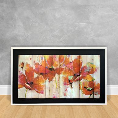 Quadro-Decorativo-Estilo-3D---Floral-Abstrato-