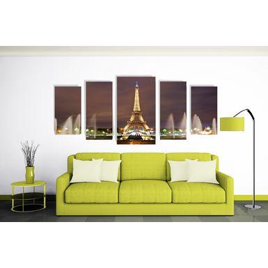 Tela-em-Canvas-Ref--Torre-Eiffel-Iluminada-