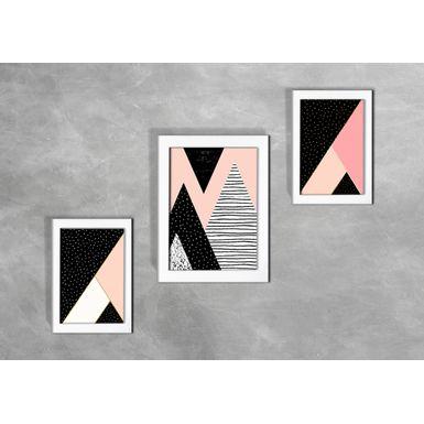 Kit-de-3-Quadros-Escandinavos-Abstratos-Coloridos-