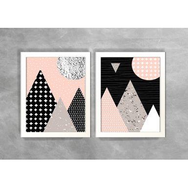 Conjunto-de-Dois-Quadros-Abstratos-Escandinavos-Geometricos-Triangulos-3