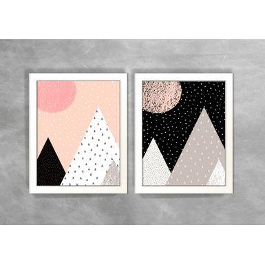 Conjunto-de-Dois-Quadros-Abstratos-Escandinavos-Geometricos-Triangulos-4