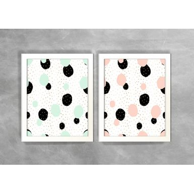 Conjunto-de-Dois-Quadros-Abstratos-Escandinavos-Geometricos-Circulos