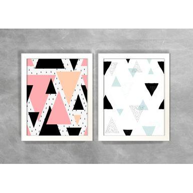 Conjunto-de-Dois-Quadros-Abstratos-Escandinavos-Geometricos-Triangulos-5