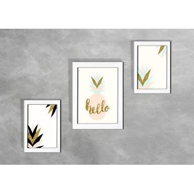Kit-de-3-Quadros-Escandinavos-Abstratos-Hello-