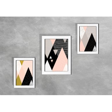 Kit-de-3-Quadros-Escandinavos-Abstratos-Triangulos-Coloridos-2-