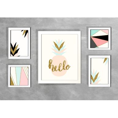 Kit-de-5-Quadros-Escandinavos-Hello-2-