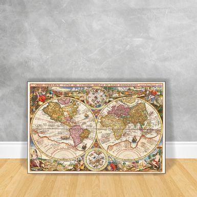 Quadro-Impressao-em-Vidro-Mapa---Orbis-Terra-RVM