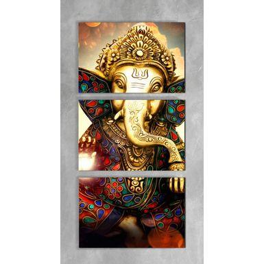 Quadro-Impressao-em-Vidro---Ganesha-