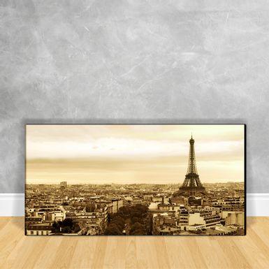 Quadro-Impressao-em-Vidro---Torre-Eiffel-Sepia-