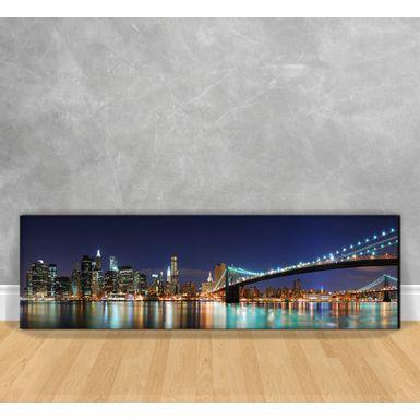 Quadro-Impressao-em-Vidro---Manhattan-City-