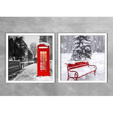 Quadro-Decorativo-Banco-Vermelho-e-Telefone