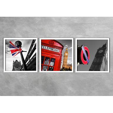 Quadro-Decorativo-Bandeira-Inglaterra-e-Telephone-Preta-