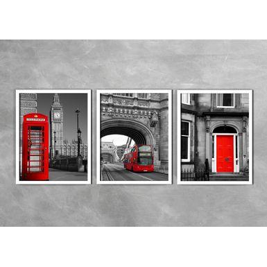 Quadro-Decorativo-Telefone-Onibus-e-Porta-Vermelha-