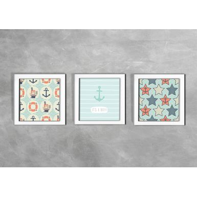 Quadro-Decorativo-Infantil-Its-a-Boy-