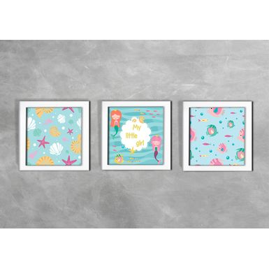 Quadro-Decorativo-Infantil-My-Little-Girl-