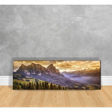 Quadro-Decorativo-Montanhas-em-Sepia