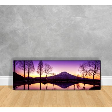 Quadro-Decorativo-Reflexo-da-Lagoa-ao-Por-do-Sol