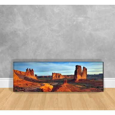 Quadro-Decorativo-Ruinas-no-Deserto